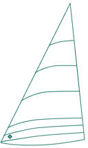 Broads One Design sails by Lonton and Gray