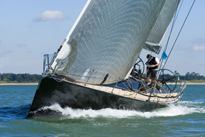 Racing sails from Lonton and Gray