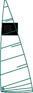 LGSM1/3 Sandhopper Mainsail by Lonton and Gray