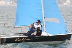 Sandhopper sails by Lonton and Gray