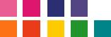 Squib Spinnaker colours